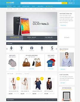 wordpress webshop layout