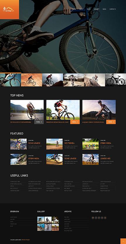 Cycling Responsive WordPress Theme