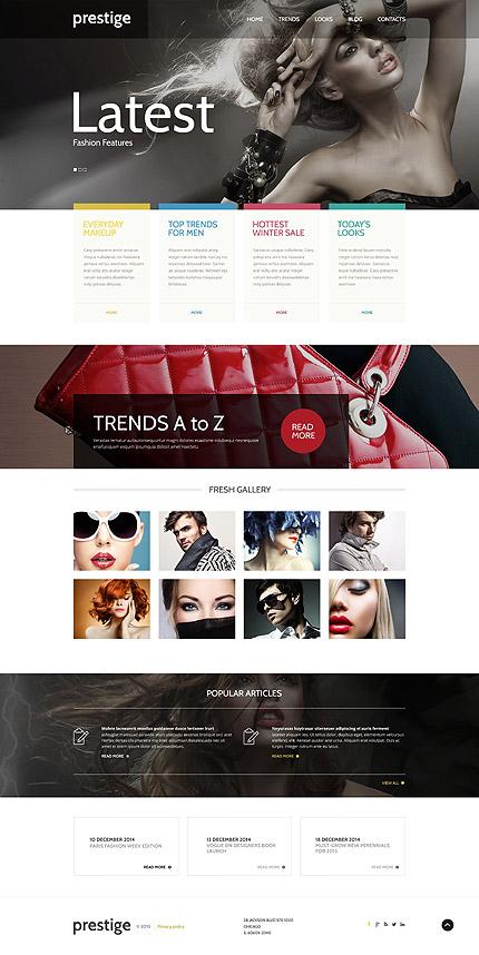 Fashion WordPress Template