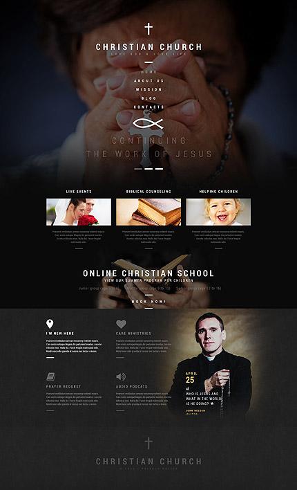Religious WordPress Theme