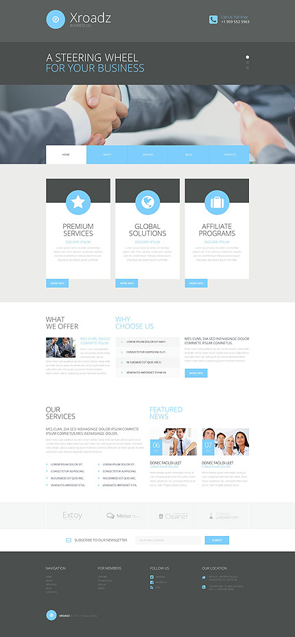 Business Bureau WP Theme