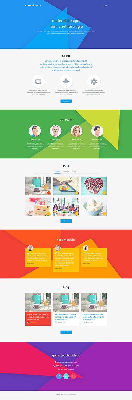 Web Design WordPress Template