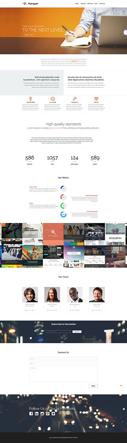 Graphic Design WordPress Theme
