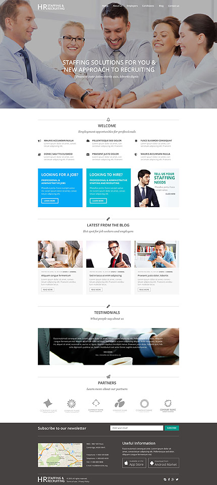 Public Relations WordPress Theme