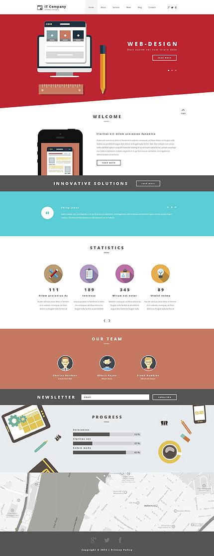 Information Technology WordPress Theme