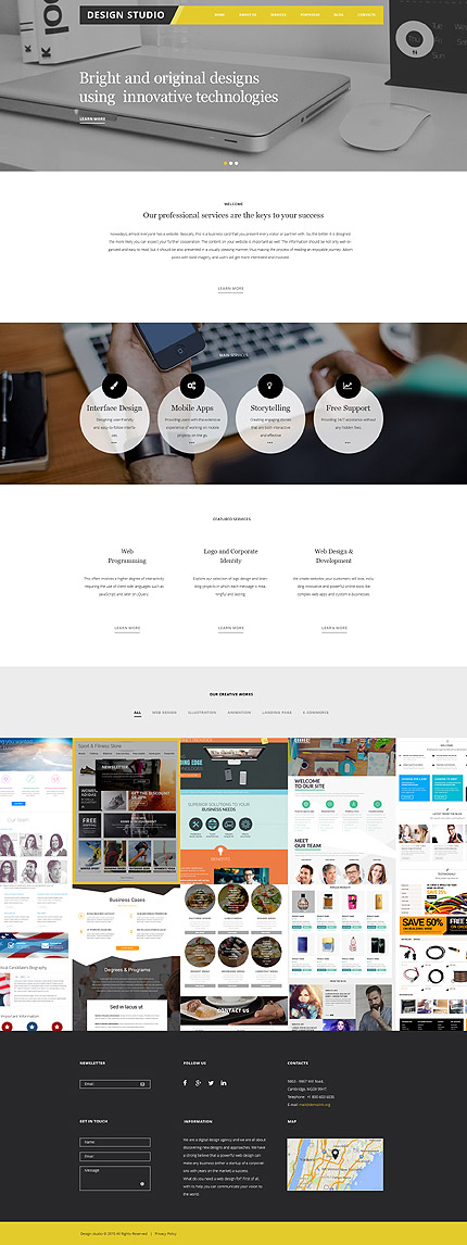 Website Design WP Themes