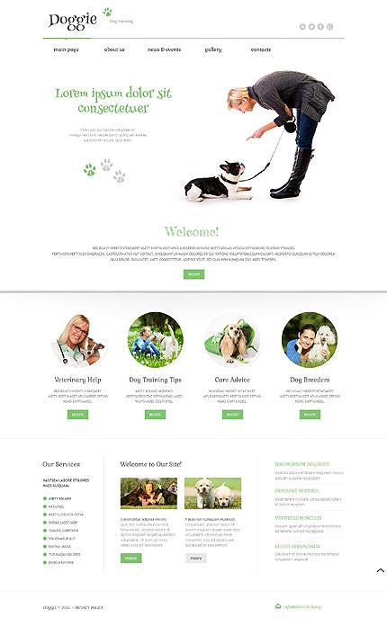 Hond Responsive WordPress Theme Huisdier WordPress Template