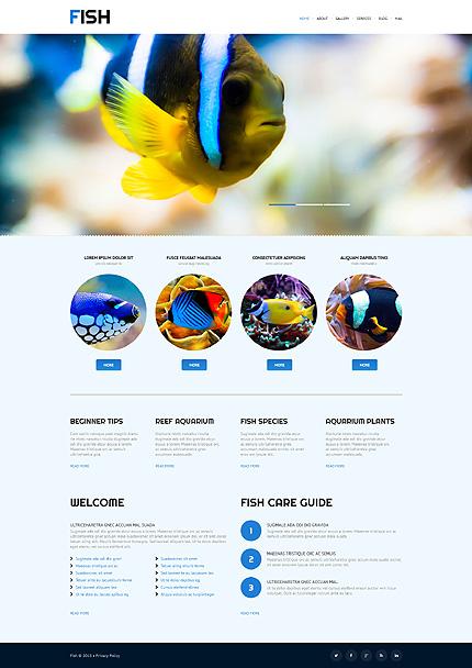 Vis WordPress Theme Huisdier WordPress Template