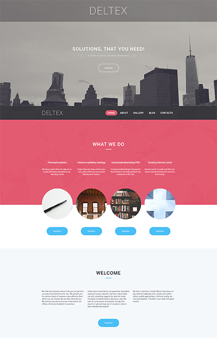 Business Firm WordPress Theme