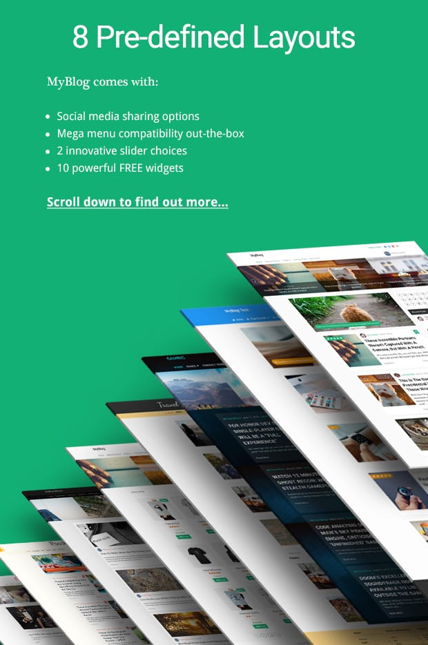 blog website template