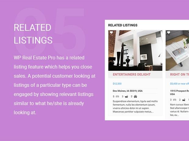 Related Listings voor vastgoed en makelaars