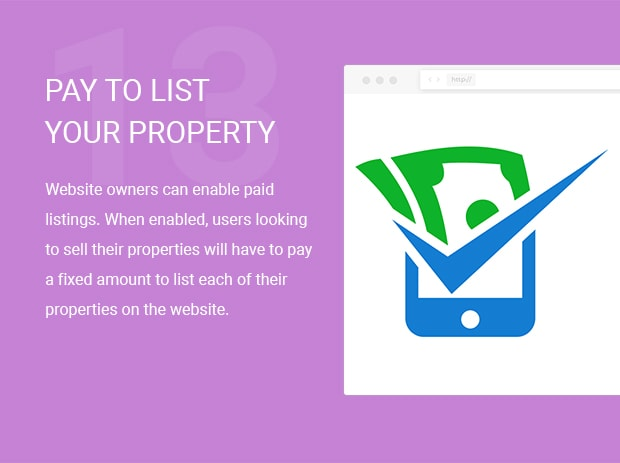 Pay to List your Property