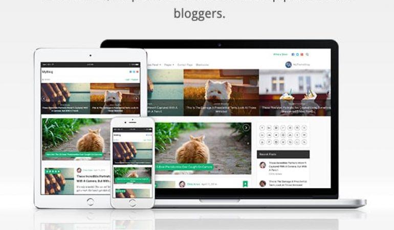 Het Blog Website Template: MyBlog