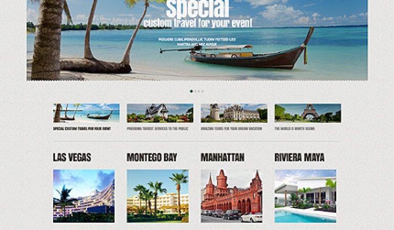 Tropisch Eiland Website Template