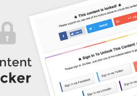 Content Locker Pro – Premium WordPress Plugin