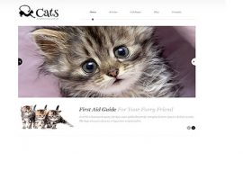 Huisdier WordPress Template