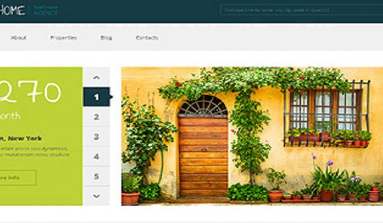 Makelaars Website Template